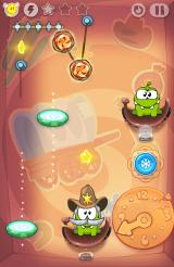 Cut the Rope: Time Travel Android Many new mechanics are meshed together in later levels
