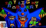 Daylight Robbery Amiga Title screen