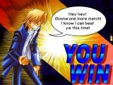 Yu-Gi-Oh! Power of Chaos: Joey the Passion Windows He really doesn't like to lose.