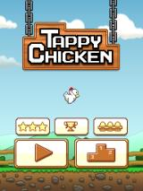 Tappy Chicken iPad Title and main menu