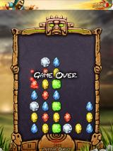 Tap Jewels iPad Game over