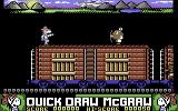 Quick Draw McGraw Commodore 64 Keep the train safe