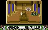 Quick Draw McGraw Commodore 64 In one of the carriages
