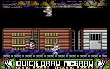 Quick Draw McGraw Commodore 64 Fell off the train