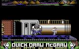 Quick Draw McGraw Commodore 64 Reached the end of the train