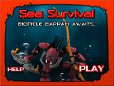 Sea Survival Browser Title screen.