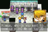 Yu-Gi-Oh! Reshef of Destruction Game Boy Advance There are tag team duels and you can choose who to team up with