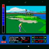 "Jack Nicklaus' Greatest 18 Holes of Major Championship Golf Sharp X68000 First hole from ""Jack's Greatest 18"""