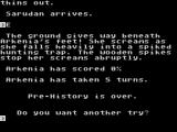 Pre - History ZX Spectrum Game over