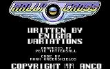 Rally Cross Challenge Commodore 64 Title Screen