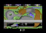 Rally Cross Challenge Commodore 64 In last place