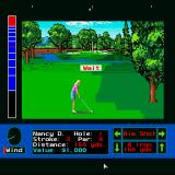 Jack Nicklaus presents The Major Championship Courses of 1989 Sharp X68000 Waiting for the computer player to make the shot