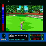 Jack Nicklaus presents The Major Championship Courses of 1989 Sharp X68000 Yay!