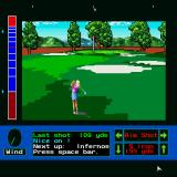 Jack Nicklaus presents The Major Championship Courses of 1989 Sharp X68000 Nice one, Nancy