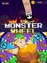Super Monsters Ate My Condo! iPad If you reach all your goals, you spin the monster wheel.