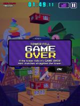 Super Monsters Ate My Condo! iPad My tower fell. Game over.