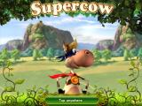 Supercow iPad Title and loading screen
