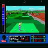Jack Nicklaus presents The International Course Disk Sharp X68000 Tee shot at St. Mellion