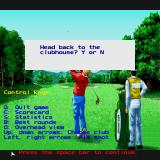 Jack Nicklaus presents The International Course Disk Sharp X68000 Controls