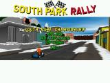 South Park Rally Windows Main menu