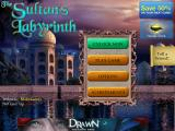 The Sultan's Labyrinth iPad Title and main menu