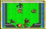 King's Bounty DOS Attacking the enemy castle with an army of archers of all kinds