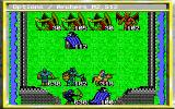 King's Bounty DOS Castle of the final enemy is impossible to take on the first attack, so you'll have to return after softening his army before you flee