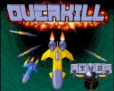 Overkill Amiga Title screen