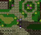 Dual Orb II SNES Nice town with flowers!