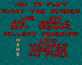 Zombie Apocalypse II Amiga Instructions