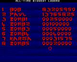 Zombie Apocalypse II Amiga All-time biggest losers