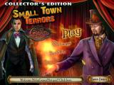 Small Town Terrors: Galdor's Bluff (Collector's Edition) Windows Title and main menu