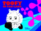 Toofy in Fan Land ZX Spectrum Loading screen
