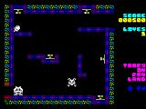 Toofy in Fan Land ZX Spectrum Collecting nuts