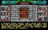 Wizardry: Bane of the Cosmic Forge DOS The game is full of puzzles of various difficulties. You'll encounter locked doors, traps, impassable places, and what not; you'll need to gather items and information