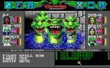 Wizardry: Bane of the Cosmic Forge DOS The monsters in the game are nicely drawn and animated. These sea serpents mean business!