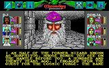 Wizardry: Bane of the Cosmic Forge DOS An important mid-game NPC encounter: Xorphitus the wizard. He'll tell you some pretty deep, philosophical stuff. His fashion taste is dubious, though. The purple hat is so 70-ies