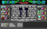 Wizardry: Bane of the Cosmic Forge DOS This is the aptly named Jail dungeon. Nice blue chains and all. You open your action menu