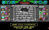 Wizardry: Bane of the Cosmic Forge DOS Dark humor is not uncommon in this game. It is still creepy and sad, though...