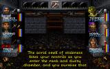 Wizardry: Crusaders of the Dark Savant DOS Moody descriptions accompany you on your journey. Exploring an optional dungeon early in the game