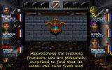 Wizardry: Crusaders of the Dark Savant DOS Fountains are described as well. Check it out, see if you want to drink...