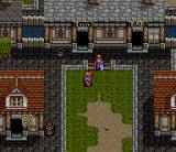 Emerald Dragon SNES In a town