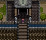 Emerald Dragon SNES Temple entrance