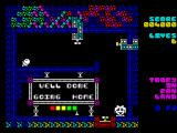 Toofy in Fan Land ZX Spectrum Final chamber
