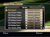 MVP Baseball 2004 Xbox You can configure different sliders to make gameplay easier or harder.