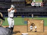 MVP Baseball 2004 Xbox Whenever you get a strike, a small PIP shows you what you did wrong (did you swing early or late?).