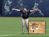 MVP Baseball 2004 Xbox Sometimes the ref is asked to see if your check swing was early enough.