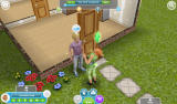 The Sims: FreePlay Android A conversation between two Sims (Dutch version)
