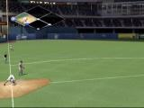 MVP Baseball 2004 Xbox Getting up from a slide, which just beat the ball to the bag.