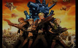 Metal Slug Defense Windows The heroes in the introduction sequence